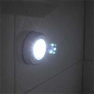 1 stücke runde schnurlose kinder touch lampe 3 led batteriebetriebene stick tipp touch licht lampe hause nacht glühbirne