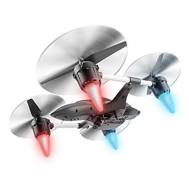 RC Dron W606-7 4 Kalały Oś 6 2,4G Z kamerą HD 0.3MP Zdalnie sterowany quadrocopter Powrót Po Naciśnięciu Jednego Przycisku / Auto-Startu