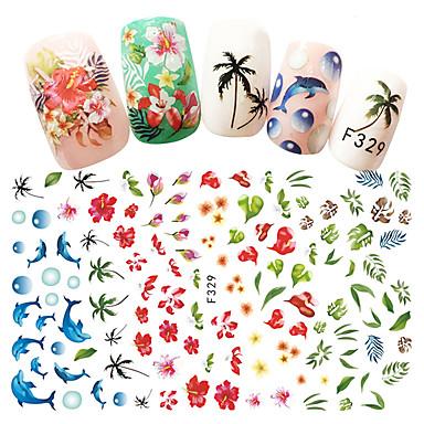 1pcs Naklejki 3D na paznokcie Naklejka Inne dekoracje Szablon tłoczenia paznokci Codzienny Modny Wysoka jakość