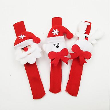 Rekwizyty świąteczne Artykuły na przyjęcie bożonarodzeniowe Zabawki Kostiumy Św. Mikołaja Elk Bałwan Święto Oświetlenie Musujący Świecący