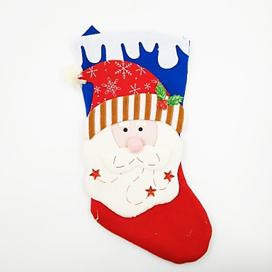 Rekwizyty świąteczne Dekoracje bożonarodzeniowe Artykuły na przyjęcie bożonarodzeniowe Zabawki Skarpetki Kostiumy Św. Mikołaja Święto XL
