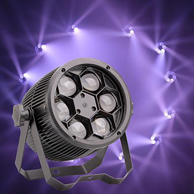 U'King Oświetlenie LED sceniczne Żarówki LED Par 8 DMX 512 Master-Slave Aktywowana Dźwiękiem Auto 80 na Klub Ślub Scena Impreza