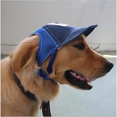 Kot Pies Kapelusze, czapki i chusty Ubrania dla psów Litera i numer Coffee Niebieski Inny materiał Kostium Dla zwierząt domowych
