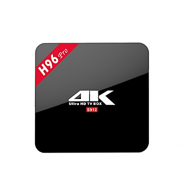 H96 PRO TV Box Android 7.1 TV Box Amlogic S912 2GB Baran 16GB ROM 8-rdzeniowy