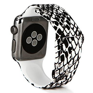 Pulseiras de Relógio para Apple Watch Series 3 / 2 / 1 Apple Pulseira Esportiva Silicone Tira de Pulso