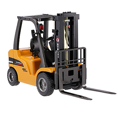 RC Car HUINA 1577 8 Channel 2.4G Construction Truck Forklift 1:10 KM/H Remote Control / RC Rechargeable Electric