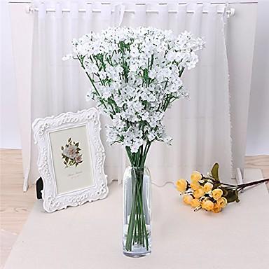 Sztuczne Kwiaty 5 Gałąź Styl pasterski Łyszczec Bukiety na stół