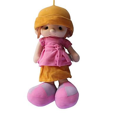 Pluszowa lalka Dziewczyna Lalki Moda Dla dziewczynek 35cm Słodki Dla dzieci Miękki Bezpieczne dla dziecka Duży rozmiar Słodkie Ślub Motyw