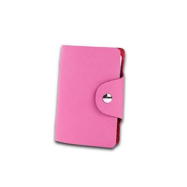Kuhfell Geometrisch Bankkarten & Ausweis Tasche Knöpfe für Normal Wear to work Ganzjährig Gelb Fuchsia Himmelblau Rosa Dunkelrot