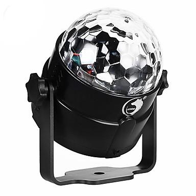 U'King Oświetlenie LED sceniczne Aktywowana Dźwiękiem Aktywacja muzyką 6 na Do domu Klub Ślub Scena Impreza Obuwie turystyczne Przenośny/a
