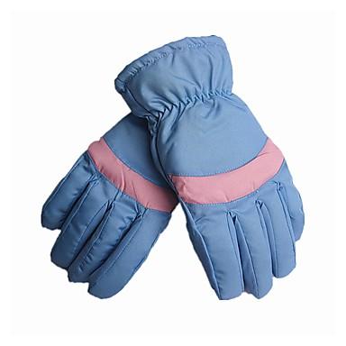 Rękawice narciarskie Damskie Full Finger Keep Warm Wiatroodporna Skidproof Skóra PU Narciarstwo Piesze wycieczki Kolarstwo / Rower Zima