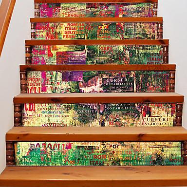 Moda Krajobraz Streszczenie Naklejki Naklejki ścienne 3D Dekoracyjne naklejki ścienne,Winyl Dekoracja domowa Naklejka For Ściana