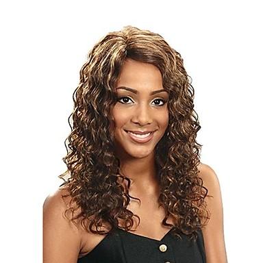 Pleść warkocze Deep Wave Warkocze szydełkowe Włosy w 100% z kanekalonu / Kanekalon 1 Pakiet Włosy Warkocze Długość średnia projektanci / Nowości / Afrykańskie warkocze