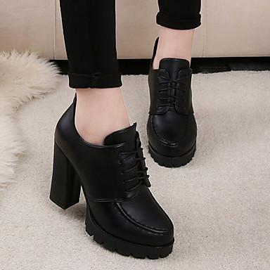 06415355 Automne Talons Rouge Habillé Confort Noir Chaussures Chaussures Femme Hiver à Synthétique qwRUPxz6E0