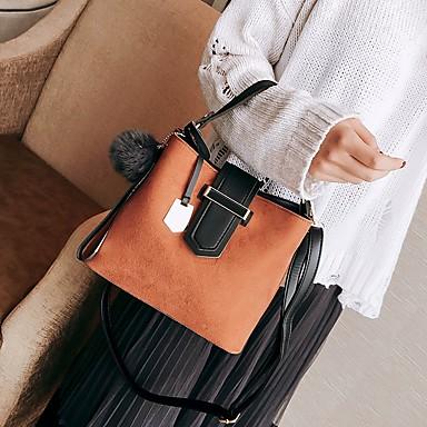 Damen Taschen Seide Tragetasche Taschen für Normal Winter Herbst Braun Dunkelgrau Khaki