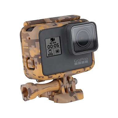 Ramka ochronna Standardowa rama Obuwie turystyczne Odporne na wstrząsy Odporny na wstrząsy Case Dla Action Camera Gopro 6 Gopro 5 Camping