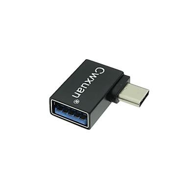 Cwxuan USB 3.1 Typ C Adapter, USB 3.1 Typ C to USB 3.0 Adapter Męski-Żeński 5.0 Gbps