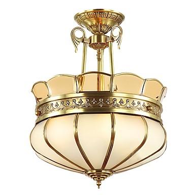 ZHISHU 4 światła Lampy widzące Światło rozproszone - Styl MIni, 110-120V / 220-240V Nie zawiera żarówek / 15/10 ㎡
