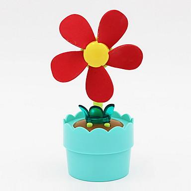 Zabawki Małe elektryczne wiatraki Światło nocne Zabawki Zaokrąglanie Flower Shape Kwiat Doniczka Klasyczny Inny materiał Dla dzieci 1