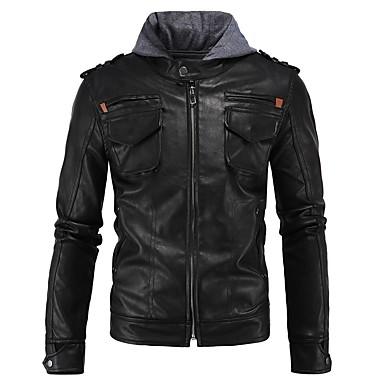 Ubrania motocyklowe Ceket na Męskie Syntetyczne powłoki skórzane Jesień / Zima