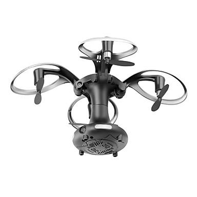 RC Drón 415B 4 Csatorna 2,4 G HD kamerával 0.3MP RC quadcopter Egygombos Visszaállítás / Lebeg / Kamerával RC Quadcopter / Távirányító /