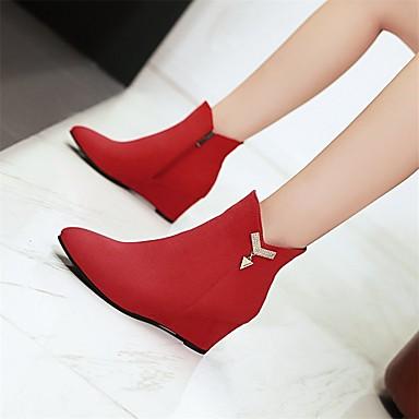 Paillette Hiver la Bout Bottes Bottes Bottes mollet Demi Chaussures à 06384478 Bottine Mi pointu Botillons Botte Mode Femme Similicuir Cwq4TxWXA