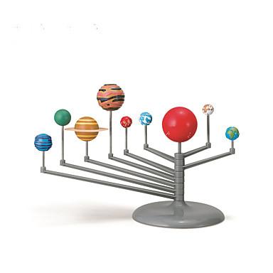 Model Bina Kitleri Zestaw do malowania układu słonecznego Zabawka astronomiczna i model Zabawki Dziewięć planet DIY Klasyczny Dla dzieci