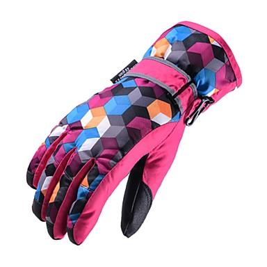 Rękawice narciarskie Dla obu płci Full Finger Keep Warm Tkanina Powłoka Narciarstwo Piesze wycieczki Outdoor Exercise Kolarstwo / Rower