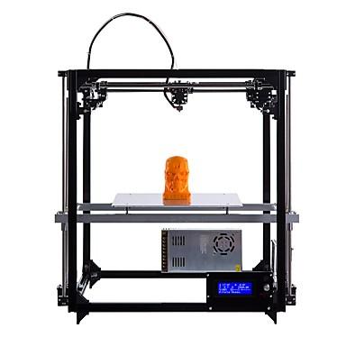 drukarka flsun cube drukarka 3d duży obszar drukowania 260 * 260 * 350mm auto poziomowanie podgrzewane łóżko dwa rolki filament za darmo
