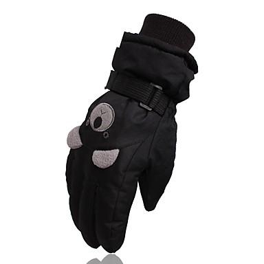 Rękawiczki zimowe Dla dzieci Full Finger Keep Warm Wodoodporny Rain-Proof Nylon Narciarstwo Zima