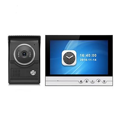 duży ekran monitora nagrywania obrazu w kolorze 9-calowym wideo domofon domofonowy z kamerą zewnętrzną cmos