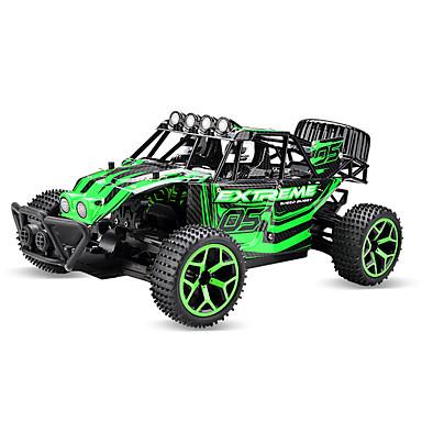 RC samochodów 333-GS02B 2,4G Samochód Terenowy / Wspinaczka samochodów / Samochód terenowy 1:18 Silnik bezszczotkowy 20 km/h Pilot zdalnego sterowania / Można ładować / Elektryczny