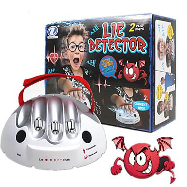 Detector de Mentira Polígrafo para adultos Jogos de Tabuleiro Micro Choque Elétrico 1 pcs Adulto Para Meninos Para Meninas Brinquedos Dom