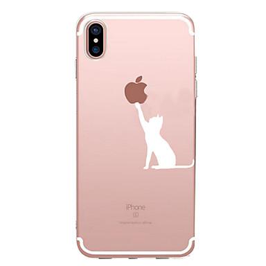 ケース 用途 Apple iPhone X iPhone 8 iPhone 6 iPhone 7 Plus iPhone 7 パターン バックカバー Appleロゴアイデアデザイン ソフト TPU のために iPhone X iPhone 8 Plus iPhone 8