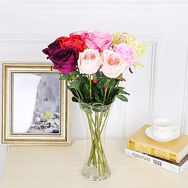 Sztuczne Kwiaty 3 Gałąź Styl nowoczesny / Ślub Roses / Rośliny Bukiety na stół / Nie wliczone