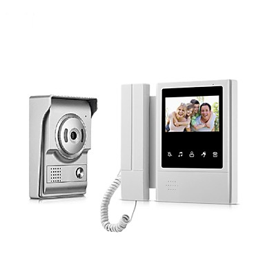 XSL-V43E168 Przewodowy / a 4.3 in Bezdotykowy 480*272 Pixel One to One video domofon