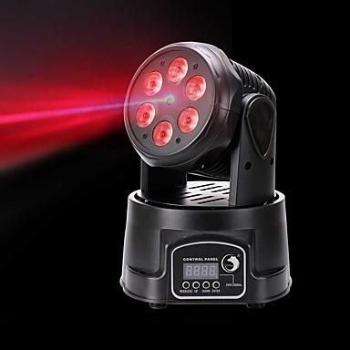 U'King Światło sceniczne laserowe Oświetlenie LED sceniczne DMX 512 Master-Slave Aktywowana Dźwiękiem Auto Pilot zdalnego sterowania 60 na
