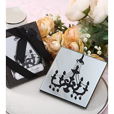 Szkło Victoria Style Opowiada Coaster - 1 Każdy / Set Romans