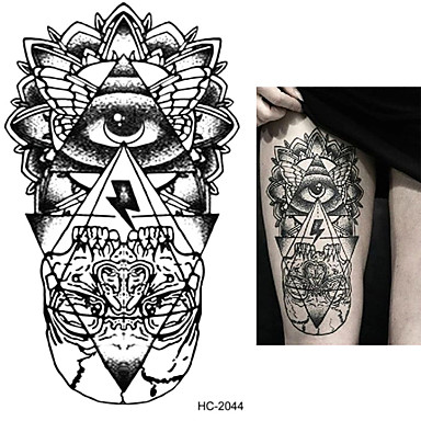 zasilanie tatuaż pełna papieru Tattoo Stencil