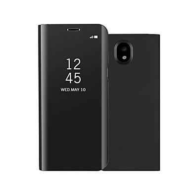 Kılıf Na Samsung Galaxy J7 (2017) / J5 (2017) Z podpórką / Lustro / Flip Pełne etui Jendolity kolor Twarde Skóra PU na On7(2016) / On5(2016) / J7 Prime