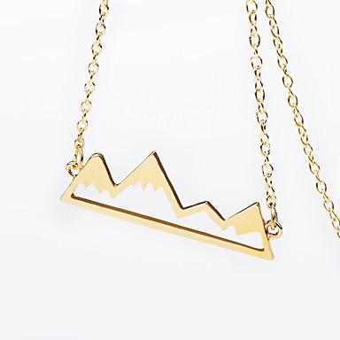 Damen Anhängerketten, Ketten  -  Klassisch, Retro, Freizeit Gold, Schwarz, Silber Modische Halsketten Für Normal, Ausgehen
