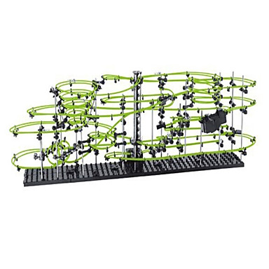 Spacerail 233-5G 30000MM Track Set Marble Track Set Marble Run Erector Set Building Kit Coaster Toy Educational Toy Glow in the Dark DIY