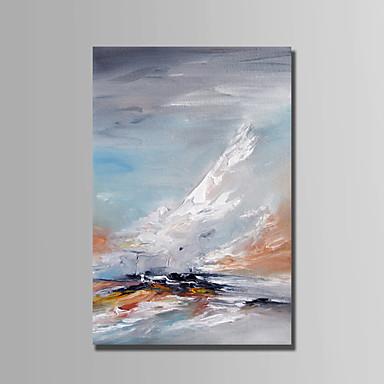 Handgemalte Landschaft Vertikal, Abstrakt Segeltuch Hang-Ölgemälde Haus Dekoration Ein Panel