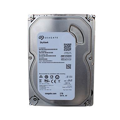 Seagate® Dyski twarde ST3000VX006 3TB Desktop Internal Hard 5900 RPM SATA 64MB Cache 3.5-inch HDD na Bezpieczeństwo systemy 18*13cm 0.6kg