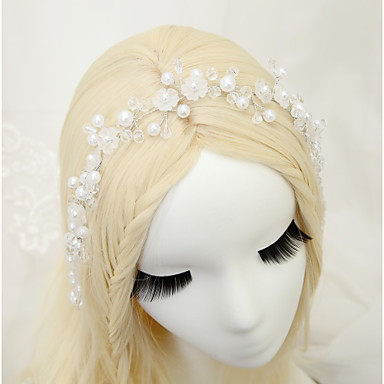 Kryształ / Imitacja pereł Opaski na głowę z 1szt Ślub / Specjalne okazje Winieta