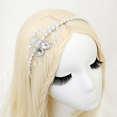 Kryształ Imitacja pereł Stop Opaski na głowę 1szt Ślub Specjalne okazje Winieta