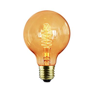 1pc 40W E26/E27 G80 K Ampoule incandescente Edison Vintage AC 220-240V V