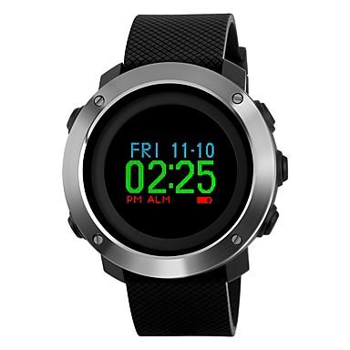 Inteligentny zegarek Spalone kalorie Krokomierze Informacje Krokomierz Stoper Budzik Chronograf Kalendarz Dwie strefy czasowe / Inne Nie