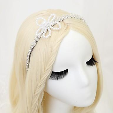 Imitacja pereł Kryształ górski Stop Opaski na głowę 1szt Ślub Specjalne okazje Winieta