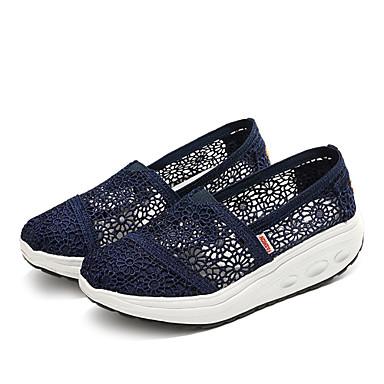 Noir Bleu et Tulle 06438266 Confort Femme Printemps D6148 Eté Beige Creepers Mocassins Chaussons Chaussures CqnY7v
